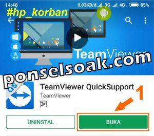 Cara Menyadap WhatsApp Aplikasi Team Viewer QuickSupport 1