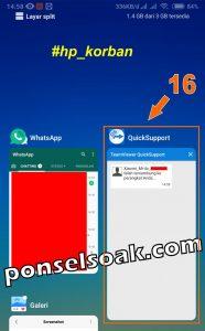 Cara Menyadap WhatsApp Aplikasi Team Viewer QuickSupport 15