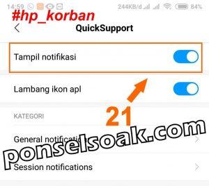 Cara Menyadap WhatsApp Aplikasi Team Viewer QuickSupport 20
