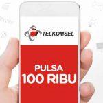 Cara Mendapatkan Pulsa Gratis Telkomsel Tanpa Syarat 2018