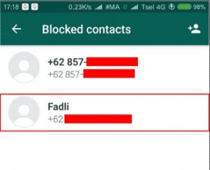Cara Blokir Grup WhatsApp 8