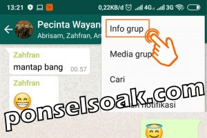 Cara Menambah Admin Grup WhatsApp 3 kosong