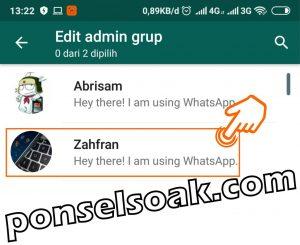 Cara Menambah Anggota Grup WhatsApp 5