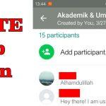 Cara Mengeluarkan Admin Grup WhatsApp Menyebalkan!