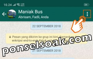 Cara Mengganti Nama Foto Profil Grup WhatsApp 2