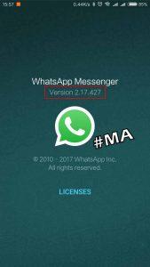 Versi Whatsapp Mengembalikan Pesan 5