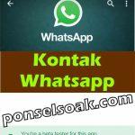 Cara Melihat Kontak WhatsApp Untuk Pengguna Baru!