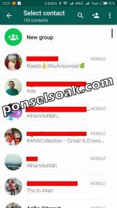 Cara Melihat Kontak Whatsapp 2