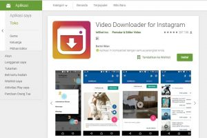 Aplikasi Download Video & Foto Instagram Insta Downloadr
