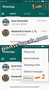 Cara Delete Akun WhatsApp 1