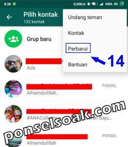 Cara Menghapus Kontak di Whatsapp 14