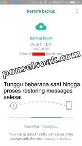Memindahkan Akun Whatsapp ke HP Baru 16