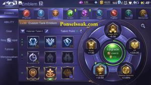 Build Emblem Akai Mobile Legends 2
