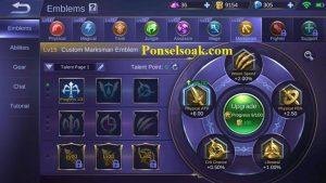 Build Emblem Hanabi Mobile Legends 2