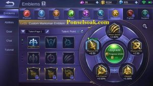 Build Emblem Lesley Mobile Legends 2