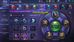 Build Emblem Lesley Mobile Legends 3