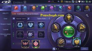 Build Emblem Miya Mobile Legends 1