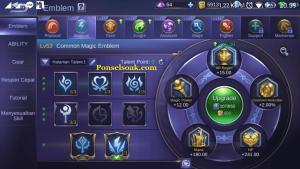 Build Emblem Pharsa Mobile Legend 1