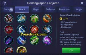 Build Gear Alucard Mobile Legends 5