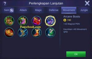Build Gear Aurora Mobile Legends 1
