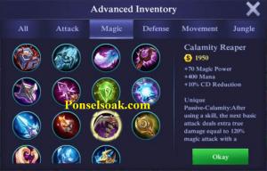 Build Gear Aurora Mobile Legends 5