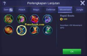 Build Gear Eudora Mobile Legends 1