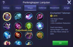 Build Gear Eudora Mobile Legends 2