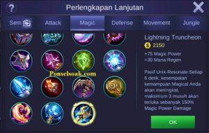 Build Gear Eudora Mobile Legends 3