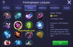 Build Gear Eudora Mobile Legends 4