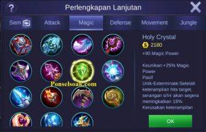 Build Gear Eudora Mobile Legends 5