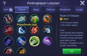 Build Gear Freya Mobile Legend 2