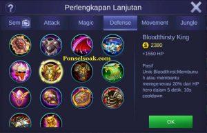 Build Gear Freya Mobile Legend 3