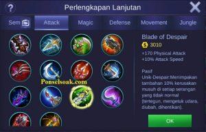Build Gear Hanabi Mobile Legends 6