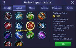 Build Gear Lesley Mobile Legends 3