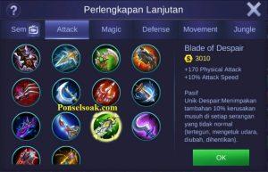 Build Gear Miya Mobile Legends 6