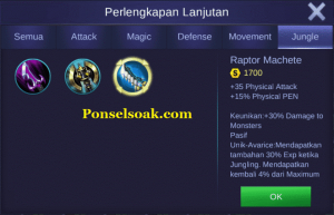 Build Gear Untuk Jungle 1
