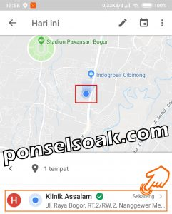 Cara Melacak Orang Lain Dengan Google Maps 13
