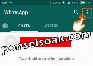 Cara Membuka Whatsapp yang Diblokir Teman 3