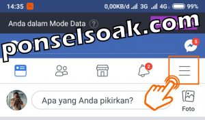 Cara Mengatasi FB di Sadap 1