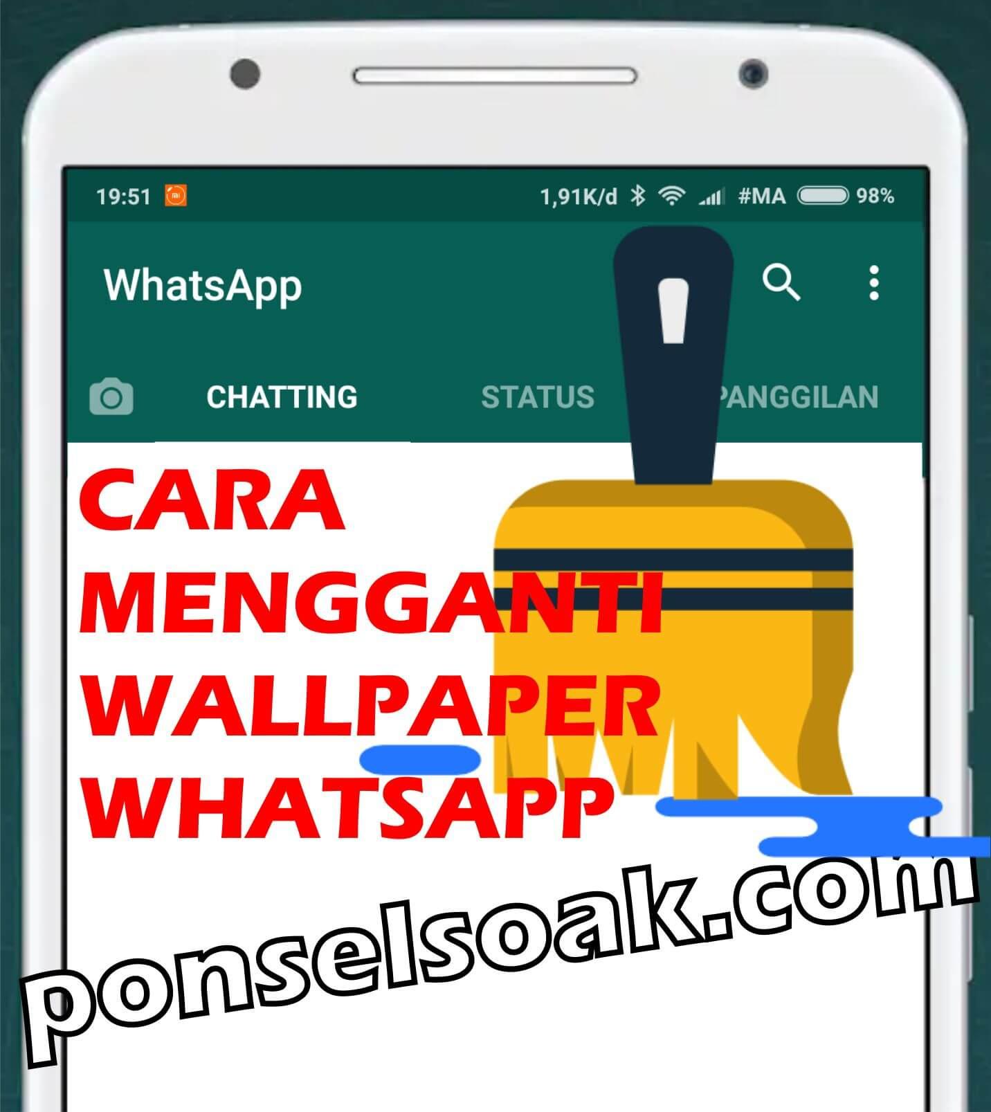 Cara Mengganti Wallpaper Whatsapp