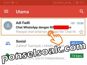 Cara Menyadap WhatsApp Lewat Gmail 10