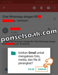 Cara Menyadap WhatsApp Lewat Gmail 12