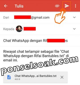 Cara Menyadap WhatsApp Lewat Gmail 8