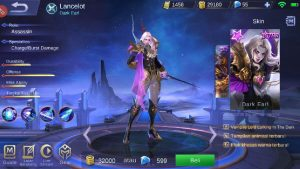 Hero Lancelot Mobile Legend