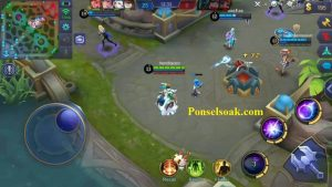 Skill 1 Aurora Mobile Legends Frost Shock