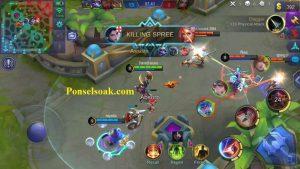 Skill 1 Hanabi Mobile Legends Malefic Bomb