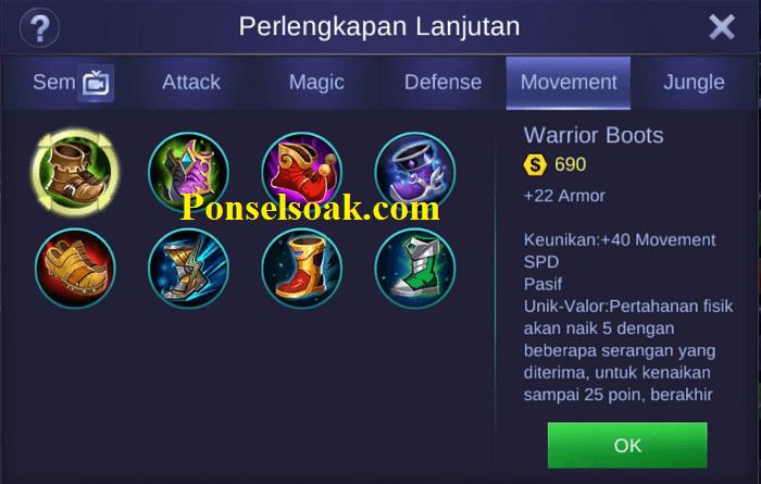 Build Gear Kaja Mobile Legends 1