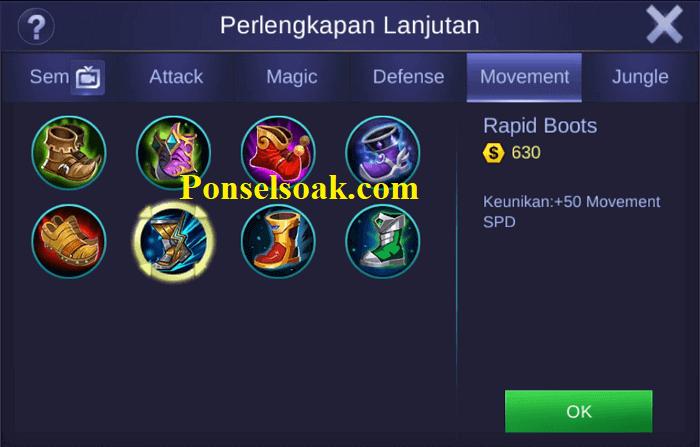 Build Gear Uranus Mobile Legends 1