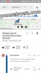 Cara menyadap hp sub judul google maps dll 30